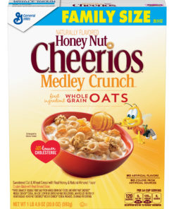 Honey Nut Cheerios Medley Crunch, Cereal, 20.9 oz