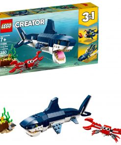 LEGO Creator 3in1 Deep Sea Creatures 31088 Sea Animal Toy Building Kit