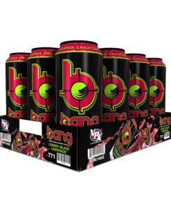 Bang Cherry Blade Lemonade Energy Drink with Super Creatine, 16oz 12pk
