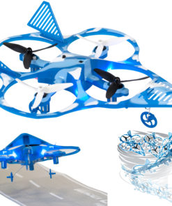 EWONDERWORLD Easy to Fly Drone for Kids & Beginners Fighter Jet Quadcopter