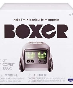 Boxer – Interactive A.I. Robot Toy (Black) with Personality and Emotions, for Ages 6 and Up