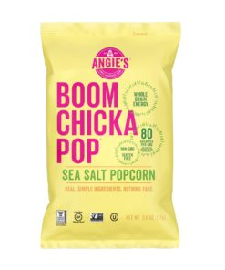 Angie's BoomChickaPop Sea Salt Popcorn, 24 Ct (0.6 Oz. Bags)