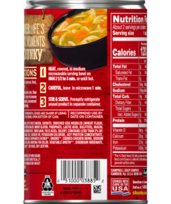 (4 Pack) Campbell's Chunky Classic Chicken Noodle Soup, 18.6 oz.