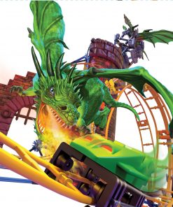 K'NEX Dragon's Revenge Thrill Coaster – 578 Parts – Roller Coaster Toy – Ages 9 and up