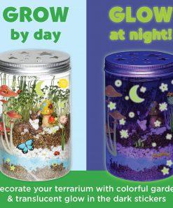 Creativity for Kids Grow N' Glow Terrarium Kit – STEAM Activity