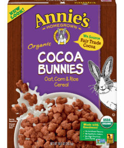 Annie's Certified Organic Cocoa Bunnies Cereal 10 oz Box