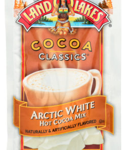 (12 Pack) Land O Lakes Cocoa Classics Arctic White Hot Cocoa Mix, 1.25 Oz.