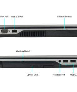 Refurbished Dell E6440 14″ Laptop, Windows 10 Pro, Intel Core i5-4300M Processor, 8GB RAM, 500GB Hard Drive