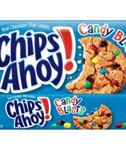 Nabisco Chips Ahoy! Candy Blasts Chocolate Chip Cookies, 12.4 Oz.