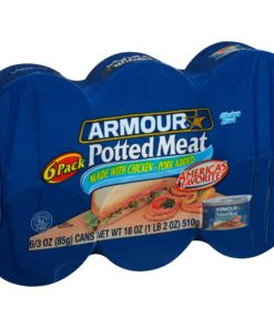 (2 Pack) Armour® Potted Meat 6-3 oz. Cans