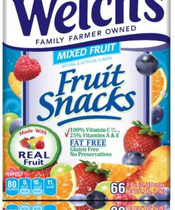 Welch's Mixed Fruit Snacks, 80 Calorie Pouches PIM69866