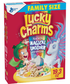 Lucky Charms, Marshmallow Cereal, Gluten Free, 19.3 oz