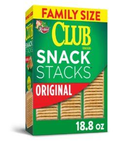 Kellogg's Club Crackers Original Grab 'N' Go, Family Size 18.8 Oz