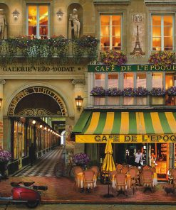 """Jigsaw Puzzle """"Paris Gallery"""" Gold Edition 500 Pieces by Wuundentoy"""