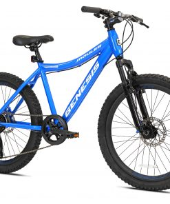 Genesis 24″ Mauler Boy's Mountain Bike, Blue