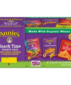 Annie's Snack Variety Pack, Cheddar Crackers & Graham Snacks, 11 oz, 12 Count