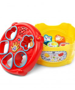 VTech, Sort and Discover Drum, Interactive Learning Toy, Baby Drum