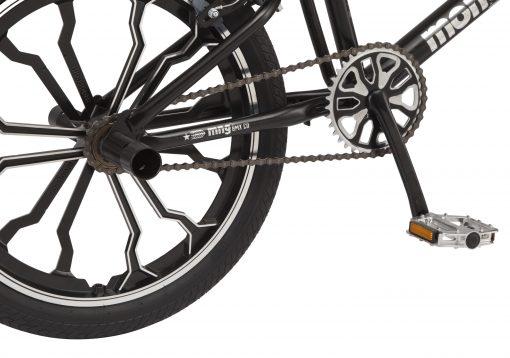 Mongoose Rebel kids BMX bike, 20-inch mag wheels, ages 7 – 13, black