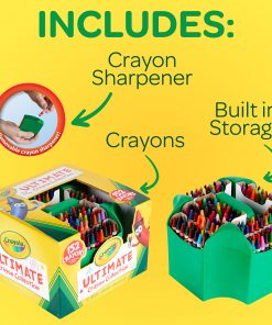 Crayola Ultimate Crayon Collection, 152-Crayon Set