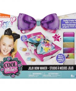 Cool Maker – JoJo Siwa Bow Maker with Rainbow and Unicorn Patterns, for Ages 6 and Up (Edition May Vary)