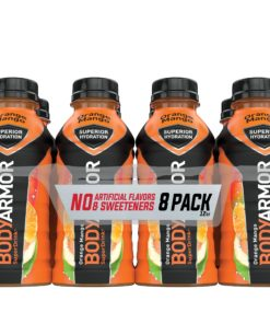 BODYARMOR Sports Drink, Orange Mango, 12 Fl. Oz., 8 count