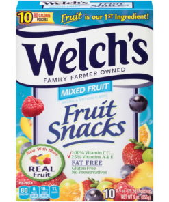 (Price/case)Welch's 10034856910883 Fruit Snacks Mixed Fruit 8-10-.9 Ounce