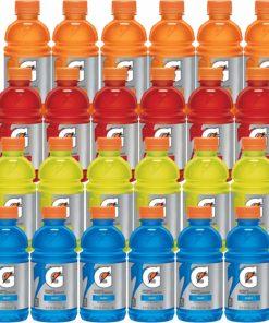 Gatorade Original Thirst Quencher Sports Drink Variety Pack, 12 oz Bottles, 24 count