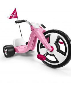Radio Flyer, Big Flyer Sport, Chopper Tricycle, 16″ Front Wheel, Pink