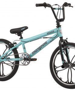 Mongoose 20″ Craze Freestyle BMX Bike, Teal