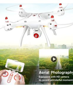 Syma x8sw wifi fpv 2.4ghz rc drone quadcopter with 720p hd camera and altitude hold function – white