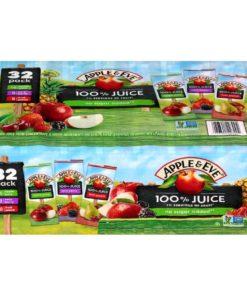 Apple & Eve Juice Box Variety Pack, 6.75 Fl Oz, 32 Count