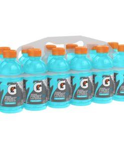 Gatorade Frost Thirst Quencher Sports Drink, Glacier Freeze, 12 oz Bottles, 12 Count