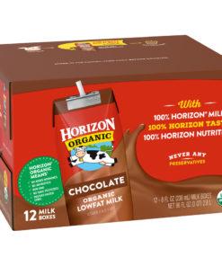 Horizon Organic 1% Lowfat Shelf Stable Chocolate Milk, 8 Oz., 12 Count