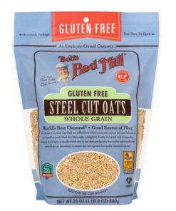 Bob's Red Mill, Steel Cut Oats, Gluten Free, 24 oz