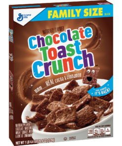 Chocolate Cinnamon Toast Crunch, Cereal, 20.4 oz