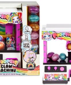 Poopsie Slime Surprise Claw Machine with 8+ Surprises, 4 Slimes & 2 Cutie Tooties