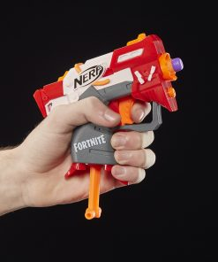 Fortnite TS Nerf MicroShots Dart-Firing Toy Blaster and 2 Nerf Darts