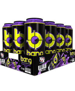 Bang Purple Guava Pear Energy Drink with Super Creatine, 16oz 12pk