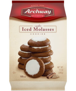 Archway Iced Molasses Classic Soft Cookies, 12 Oz