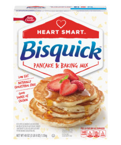 Betty Crocker Bisquick Heart Smart Pancake and Baking Mix, 40 oz