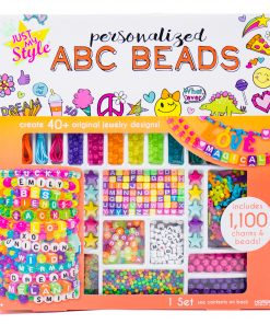 Just My Style Personalized ABC Beads, Includes 1000+ Beads