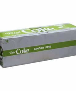 Coke Diet Ginger Lime Soda 12 Pack Coca Cola