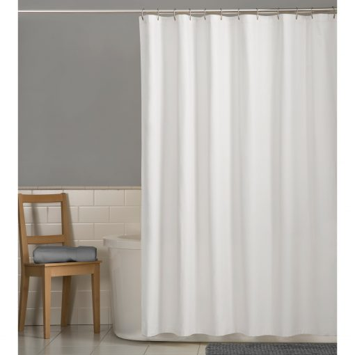 Mainstays Water Repellent 70″ x 72″ Fabric Shower Curtain or Liner