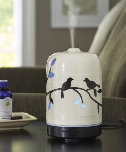 Better Homes & Gardens 100 mL Essential Oil Diffuser, Birds and Branches