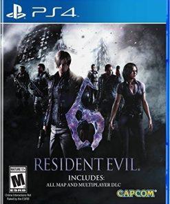 Resident Evil 6, Capcom, PlayStation 4