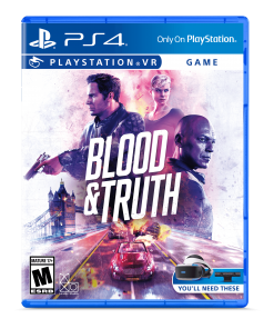Blood & Truth VR, Sony, PlayStation 4, 711719517870
