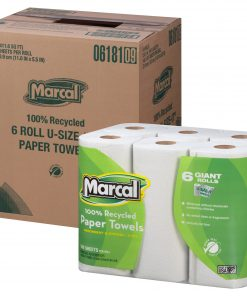 Marcal Paper Towels, U-Size-It, 6 Giant Rolls