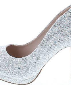 De Blossom Womens Robin-46 Stunning Dress High Heel Pumps Shoes
