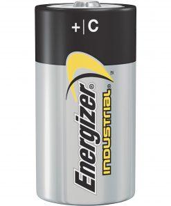 Energizer Industrial Alkaline C Batteries, 12 Count
