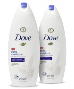 Dove Body Wash Deep Moisture 22 oz 2 Count